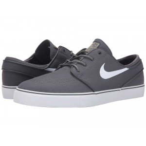 Zoom Stefan Janoski Canvas Dark Grey/Gum Light Brown/Metallic Gold Star/White
