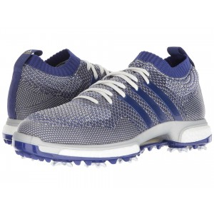 adidas Golf Tour360 Knit Grey One/Real Purple/Footwear White