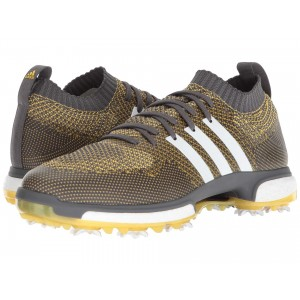 adidas Golf Tour360 Knit Grey Five/Footwear White/EQT Yellow