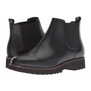 Roman Waterproof Black Leather