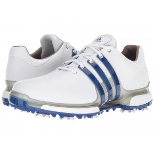 adidas Golf Tour360 2.0 Footwear White/Collegiate Royal/Silver Metallic