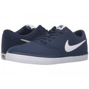 Nike SB Check Solar Canvas Midnight Navy/White