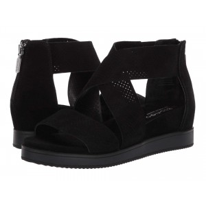 Cassie Waterproof Black Suede