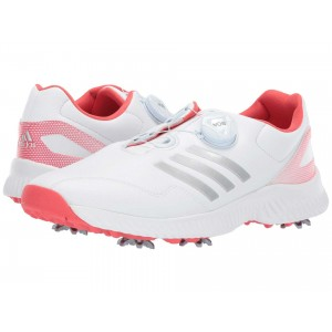 Response Bounce Boa Footwear White/Silver Metallic/Real Coral
