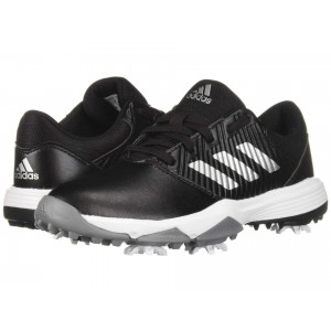 Jr. CP Spiked (Little Kid/Big Kid) Core Black/Silver Metallic/Footwear White