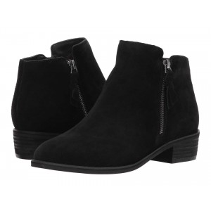 Liam Waterproof Bootie Black Suede