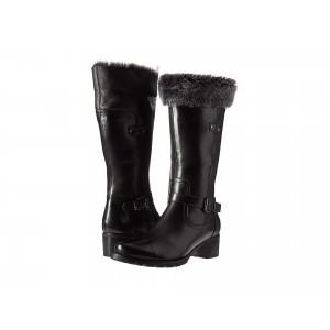 Flavia Waterproof Black Leather