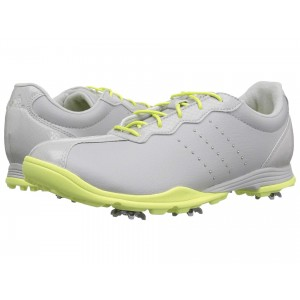 adidas Golf Adipure DC Grey One/Silver Metallic/Semi Frozen Yellow