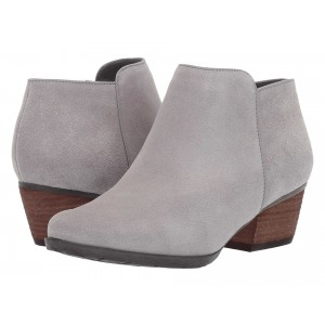 Villa Waterproof Bootie Light Grey Suede