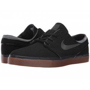 Nike SB Zoom Stefan Janoski Canvas Black/Anthracite/Gum Medium Brown