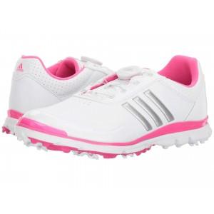 adidas Golf Adistar Lite Boa Footwear White/Silver Metallic/Shock Pink