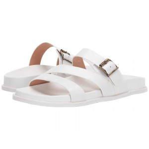 Selma Waterproof White Leather