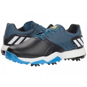 adiPower 4orged   Wide Blue/Black/Shock Yellow