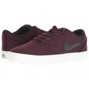 Nike SB Check Solarsoft Canvas Premium Burgundy Crush/Black/Ivory