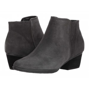 Valli Waterproof Bootie Dark Grey Suede