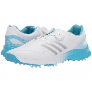 Response Bounce Boa Footwear White/Silver Metallic/Bright Cyan