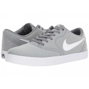 Check Solar Canvas Grey/White
