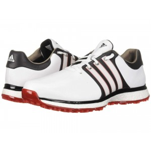 Tour360 XT Spikeless   Wide Footwear White/Core Black/Scarlet