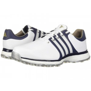 Tour360 XT Spikeless   Wide Footwear White/Collegiate Navy/Gold Metallic