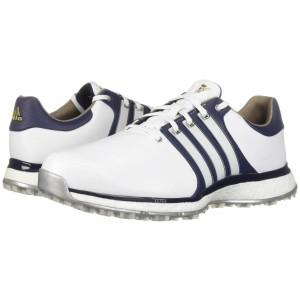 Tour360 XT Spikeless   Wide Footwear White/Collegiate Navy/Gold Metallic