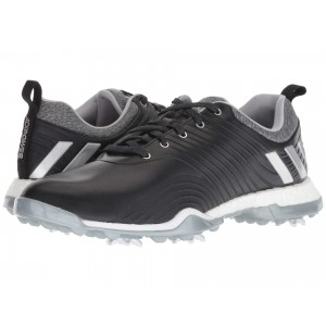 adiPower 4orged Black/Silver Metallic/Clear Onix