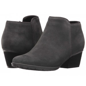 Villa Waterproof Bootie Dark Grey Suede