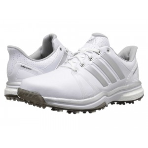 adidas Golf Adipower Boost 2 Ftwr White/Silver Metallic/Core Black