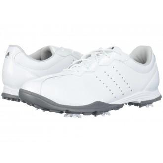 Adipure DC Footwear White/Silver Metallic/Silver Metallic