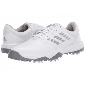 Jr. CP Spiked (Little Kid/Big Kid) Footwear White/Silver Metallic/Grey Two