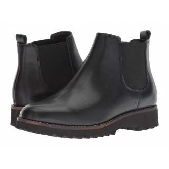 Roman Waterproof Black Leather