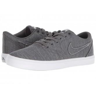 Nike SB Check Solarsoft Canvas Premium Dark Grey/Dark Grey/White