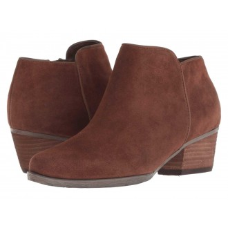 Blondo Villa Waterproof Bootie Chestnut Suede