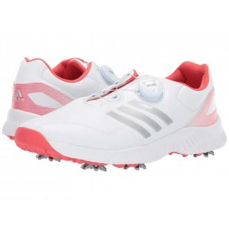 Response Bounce Boa Footwear White/Silver Metallic/Real Coral