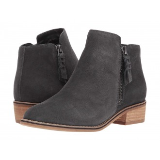 Liam Waterproof Bootie Grey Suede