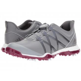 adidas Golf adiPower Boost Boa Grey Three/Grey Four/Mystery Ruby