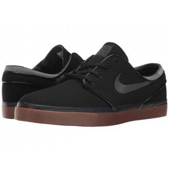 Nike SB Zoom Stefan Janoski Canvas Black/Anthracite/Gum Medium Brown