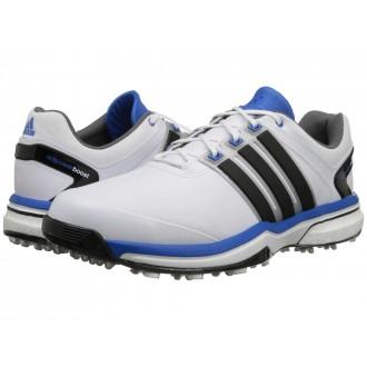 adidas Golf adiPower Boost Running White/Core Black/Bahia Blue