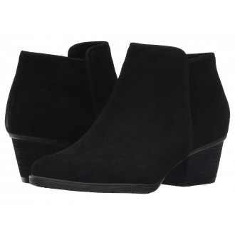 Villa Waterproof Bootie Black Suede