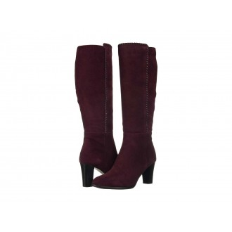 Blondo Edith Waterproof Burgundy Suede
