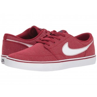 Nike SB Portmore II Solar Premium Canvas Red Crush/White/White