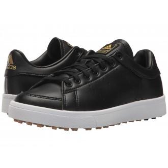 adidas Golf Jr. Adicross Classic (Little Kid/Big Kid) Core Black/Core Black/Footwear White
