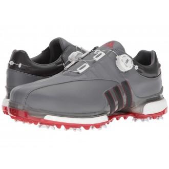 adidas Golf Tour360 EQT Boa Grey Four/Utility Black/Scarlet