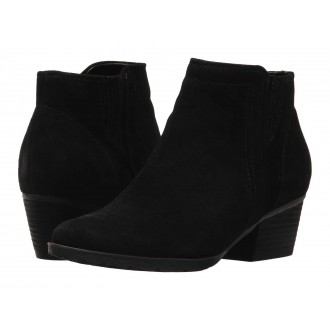 Valli Waterproof Bootie Black Suede