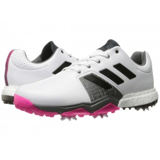 adidas Golf Adipower Boost 3 Ftwr White/Core Black/Shock Pink