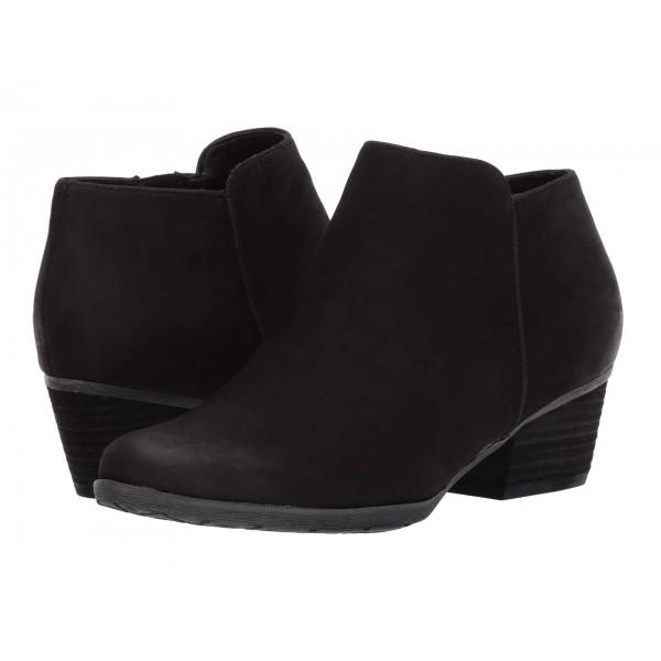 Villa Waterproof Bootie Black Leather