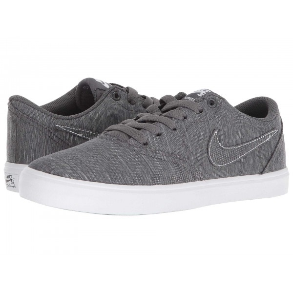 Nike SB Check Solarsoft Canvas Premium Dark Grey/Dark Grey/White