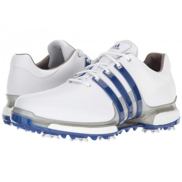 adidas Golf Tour360 2.0 Footwear White/Collegiate Royal/Silver Metallic