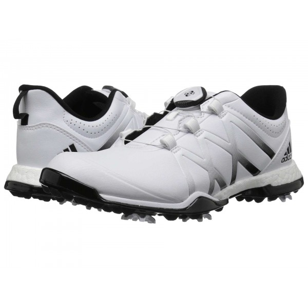 adidas Golf adiPower Boost Boa Footwear White/Core Black/Core Black