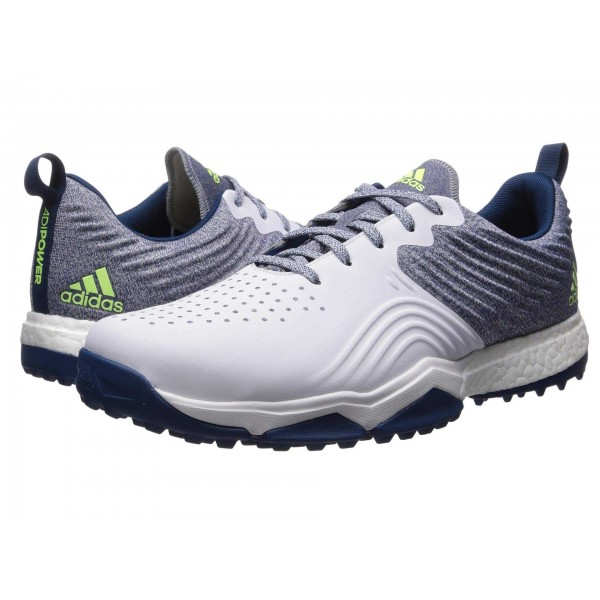 adiPower 4orged S   Wide Legend Marine/Footwear White/Hi Res Yellow