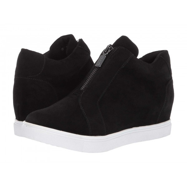 Glenda Waterproof Black Suede